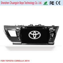 Auto Video DVD / MP3 / MP4 Spieler für Toyota Corolla 2014 (LHD)