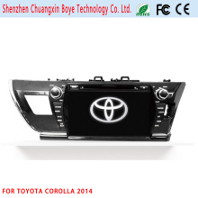 Reproductor de DVD / MP3 / MP4 para Toyota Corolla 2014 (LHD)