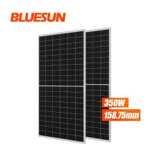 Bluesun Solar Panel Mono 340W 350W And More Paneles Solares 1000W Precio Solar Plant 350 Watt