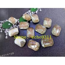Octagon Jewelry Stones 13*18 Crystal Rhienstones for Wholesale