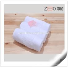 Toalha de algodão puro venda quente barato toalha de mão branca atacado