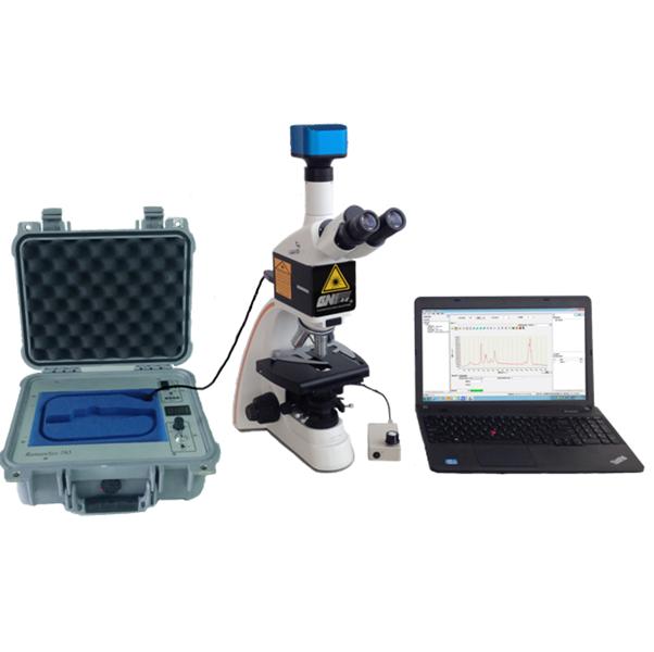 Micro raman spectrometer