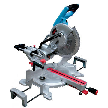 Electric mitre saw for aluminum base