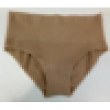 Alta qualidade corte alto underwear calcinha sem costura