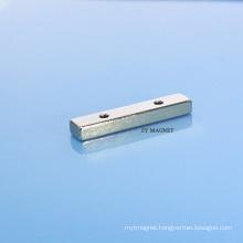 High Quality Block NdFeB Neodymium Magnet with Hole