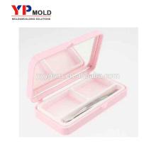 makeup eyelash case luxury eyelash box with logo plastic injection mold