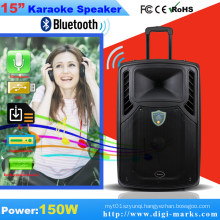 10 Inch Professional Battery Karaoke Speaker with Bluetooth, FM Functional