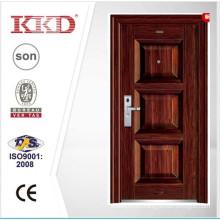 2015 New Steel Main Door Design KKD-355 For Apartment Exterior Door