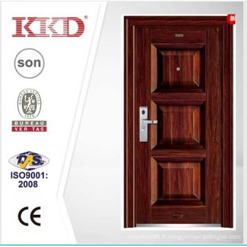 2015 acier nouveau Design porte principale KKJ-355 pour porte extérieur de l'appartement