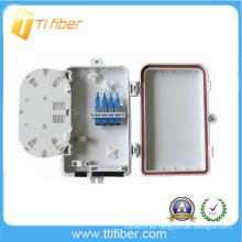 4 núcleos de fibra óptica de distribución de caja / al aire libre de cable pequeña caja impermeable de unión