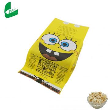 Kraft greaseproof paper microwave popcorn bags