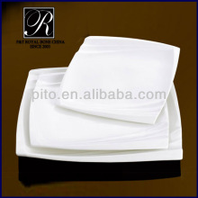 hot sale weight and fashion design square plate PT-1764