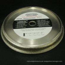 roda de perfil de diamante galvanizado