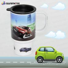 SUNMETA sublimation polymer travel mug