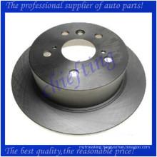 MDC2545 DF6176 42431-33130 high quality brake rotors for lexus es350