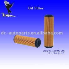 Elemento filtrante de lubrificante 271 180 00 09 para Mercedes-Benz