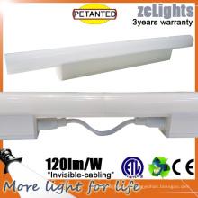 Luzes da prateleira do armário de cozinha do diodo emissor de luz T5 linear sob a iluminação do gabinete
