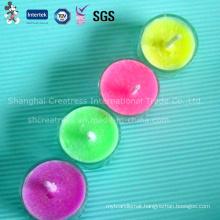 Elegant Color Flame Candles, Tea Light Candles