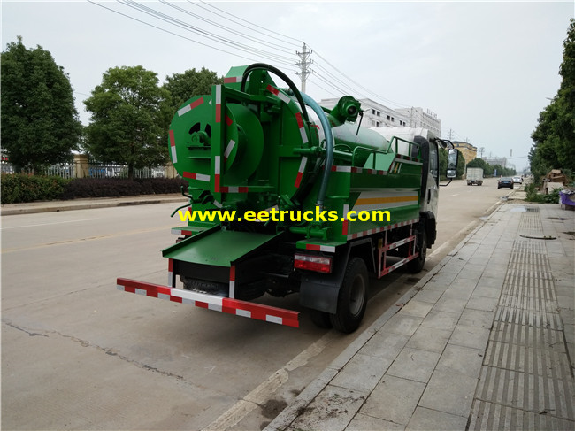 Vacuum Fecal Suction Trucks