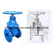 Válvula de derivación suave y flexible resistente al vástago ANSI 125/150