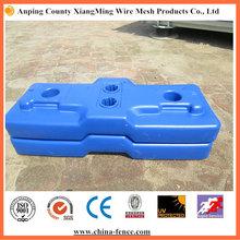 UV5 Surface Treatment Temp Fence Base with Concrete