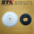Engranaje de plástico inyectado de alta precisión / engranaje de plástico (STK-PL-1035)