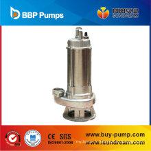 Pompe centrifuge submersible d'eaux d'égout, pompe d'eaux d'égout