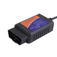 Elm327 USB v 1.5 Auto carro ferramenta de diagnóstico Obdii Can-Bus Scanner