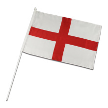 Promotion Polyester England National Hand Flagge mit Aufkleber