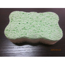 Glued Cellulose Sponge for Cleaning