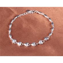 925 серебряных сердец Браслеты белого цвета