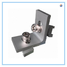 L Connector Solar Ground Mounting Bracket, Easy and Efficient to Install