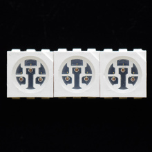 3-Chips 630nm Red LED 5050 SMD LED