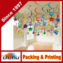 Ballon Spaß Mega Value Pack Swirl Dekorationen (420054)