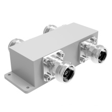 2700-6000MHz IP65 4.3-10 Female 2in 2out Hybrid Coupler / 2: 2 Combiner