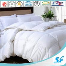 Couette de plumes en tissu 100 % coton résistant à l'épreuve du duvet (SFM-15-130)
