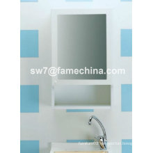 2013 simple and naturalistic painted mirror cabinet with lights