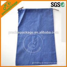 Bolsa de tela no tejida de polipropileno Bolsa de cordón para semillas