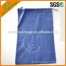 saco de cordão não tecido do saco de lixo do polipropileno para a semente