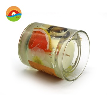 Gepersonaliseerde Custom Creative Glass Jelly Scented Candle