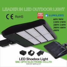 CE ROHS LED Parking Lot shoebox Light 60w to 480w corrosion proof lighting