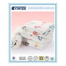 Cómodo tejido de algodón 100% Jacquard para bebé