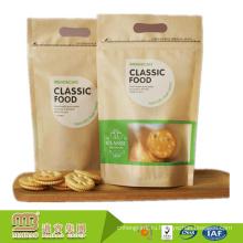 Мировой Рынок Прокатанная Бумага Kraft Изготовленный На Заказ Логос Печати Прозрачные Пластиковые Мешки Для Печенья Упаковки