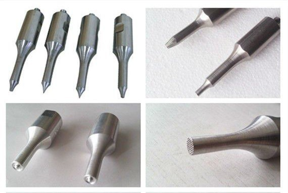 Ultrasonic spot welding heads