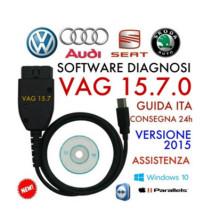 Diagnosekabel VAG Kkl COM 15.7.0 für Audi / Seat / VW Autos