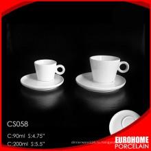 Отель royal elegent Специальный дизайн использование белого фарфора чай Кубок
