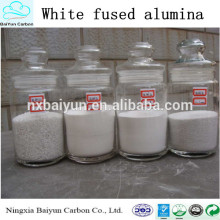 Venta caliente de óxido de aluminio de buena calidad con precio competitivo de óxido de aluminio blanco fundido