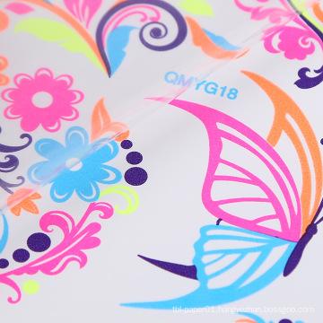 Floral Non-toxic Glow In The Dark Body Stickers Fluorescent Luminous Self Adhesive Body Temporary Tattoo Sticker