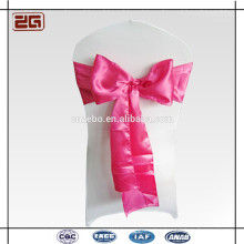 Hot Selling Factory Price Guangzhou Manufacture Decoration Wedding Satin Chair Sash for Hotel Banquet Party