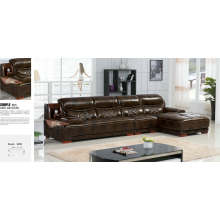 Made in China Leisure Designs Genuine Italy Leather Sofa (S3195)